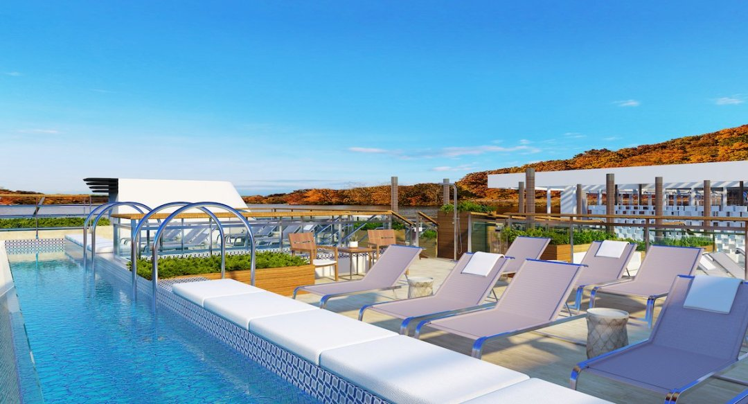 CC Viking Mississippi Pool Deck RND - 4 New Viking Mississippi River Cruise Routes Announced