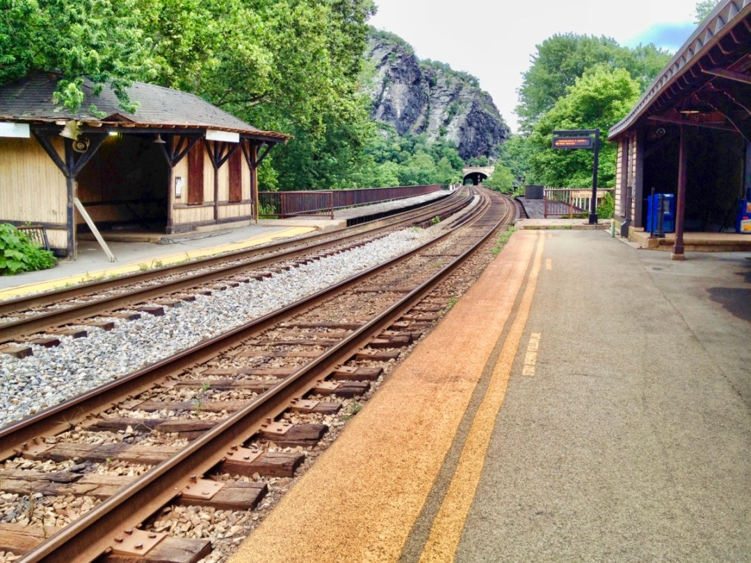 Harpers Ferry Depot and Rails - Things to Do in Harpers Ferry WV: History, Hikes & Whitewater