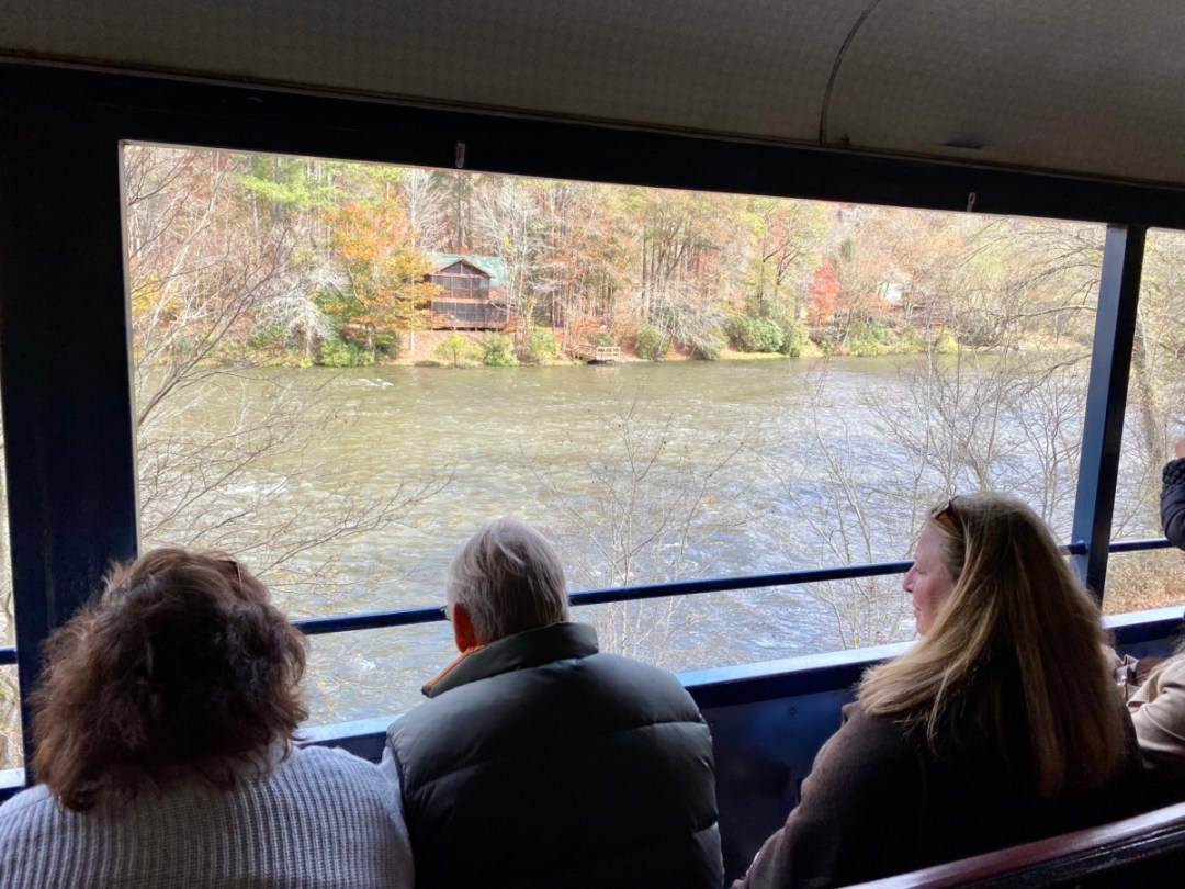 Toccoa River - Hop a Scenic Mountain Train in Blue Ridge, Georgia