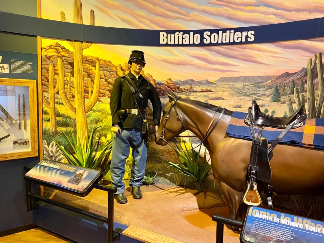 Buffalo Soldiers exhibit - Explore African American Heritage Sites in Hattiesburg MS