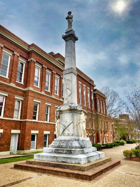 Confederate Monument Hattiesburg MS - Explore African American Heritage Sites in Hattiesburg MS