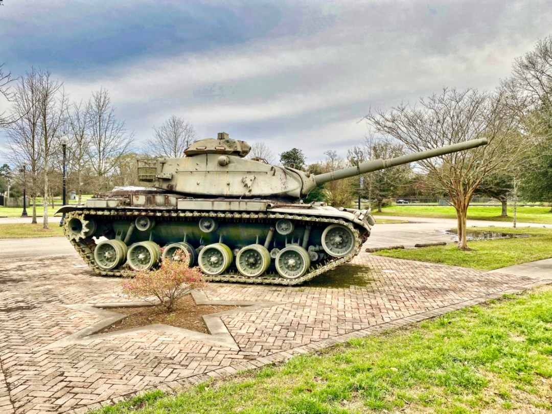 Vietnam Era M60 Tank - Explore African American Heritage Sites in Hattiesburg MS