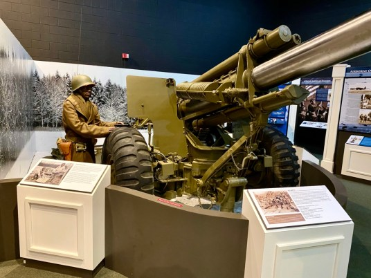 M1A1 Howitzer - Visit the Mississippi Armed Forces Museum at Camp Shelby