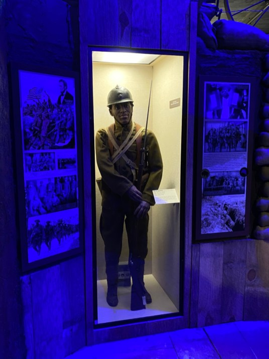 WWI French Colonial troop exhibit - Visit the Mississippi Armed Forces Museum at Camp Shelby