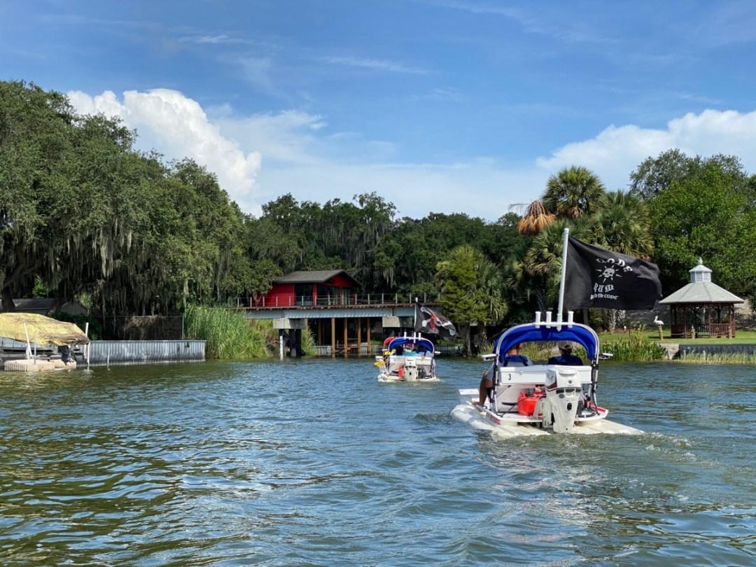 CatBoats entering Dora Canal - Discover Lake County Florida Outdoor Adventures