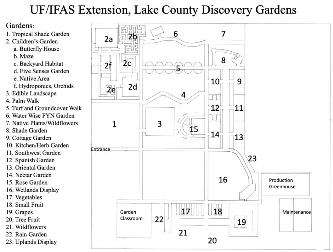 Discovery Gardens Map e1594759321517 - Discover Lake County Florida Outdoor Adventures