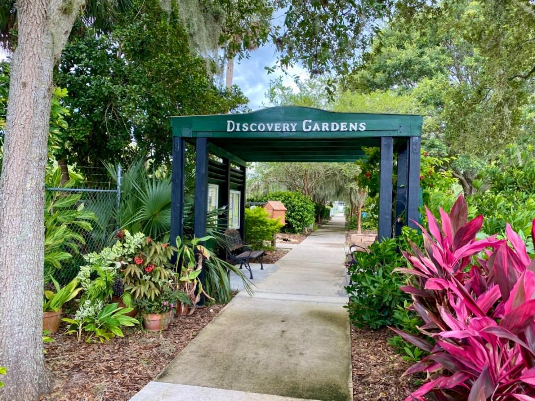 Discovery Gardens entrancee - Discover Lake County Florida Outdoor Adventures