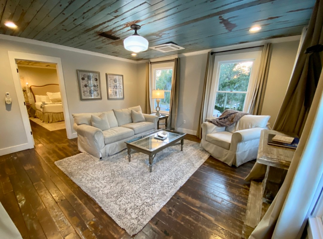 The Roost living area - 10 Distinctive Places to Stay in Coastal Mississippi