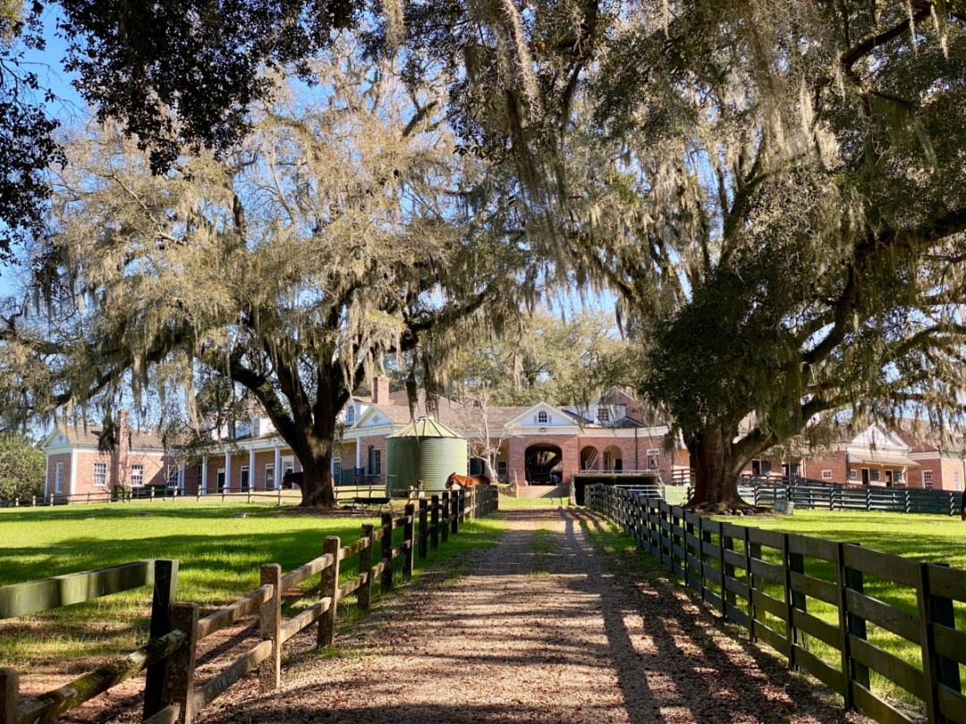 Pebble Hill stable complex - Encounter Historic Quail Hunt Plantations in Thomasville GA