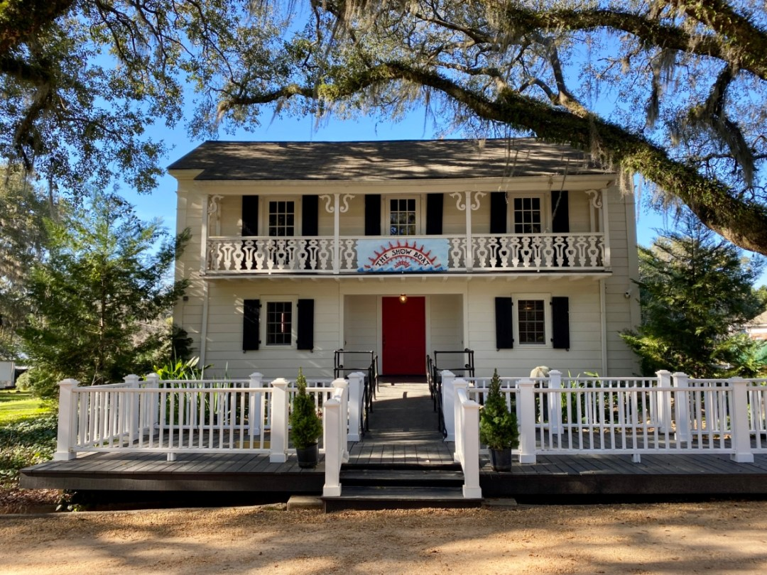 South Eden Showboat Theater exterior - Encounter Historic Quail Hunt Plantations in Thomasville GA