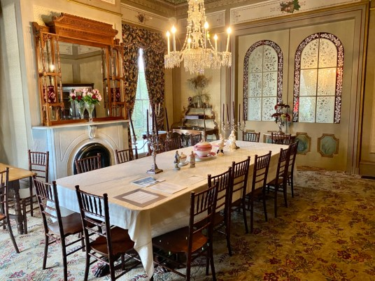 Fendall Hall dining room - Outdoor & Historical Things to Do in Eufaula Alabama