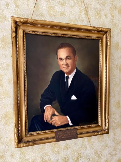 George Wallace portrait - Outdoor & Historical Things to Do in Eufaula Alabama