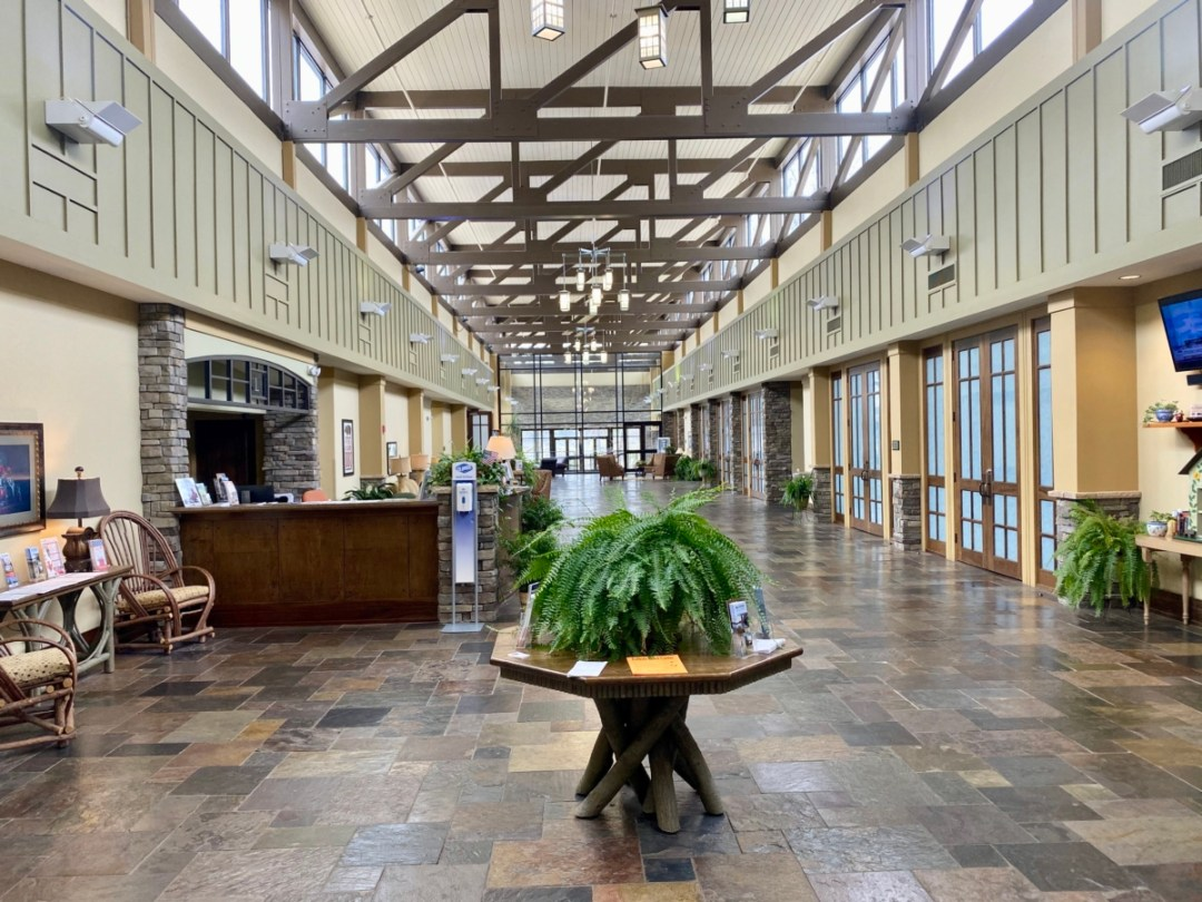 Lakepoint Lodge interior - Outdoor & Historical Things to Do in Eufaula Alabama