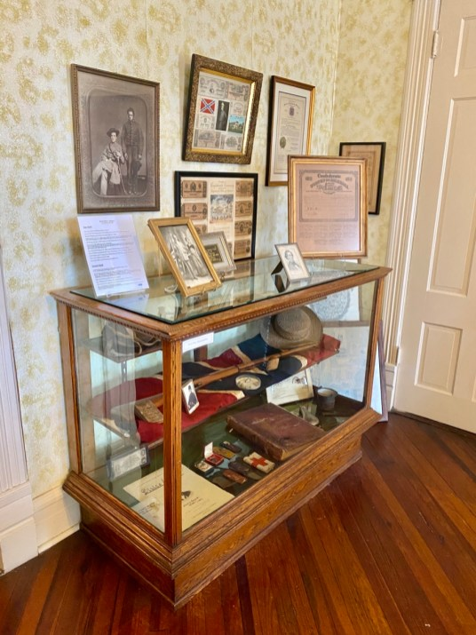 Shorter Mansion Civil War artifacts - Outdoor & Historical Things to Do in Eufaula Alabama