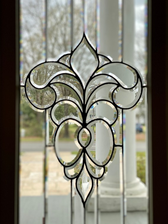 Shorter Mansion leaded glass - Outdoor & Historical Things to Do in Eufaula Alabama