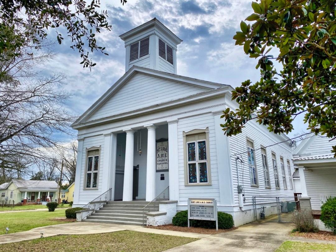 St. Luke AME Church Eufaula AL - Outdoor & Historical Things to Do in Eufaula Alabama