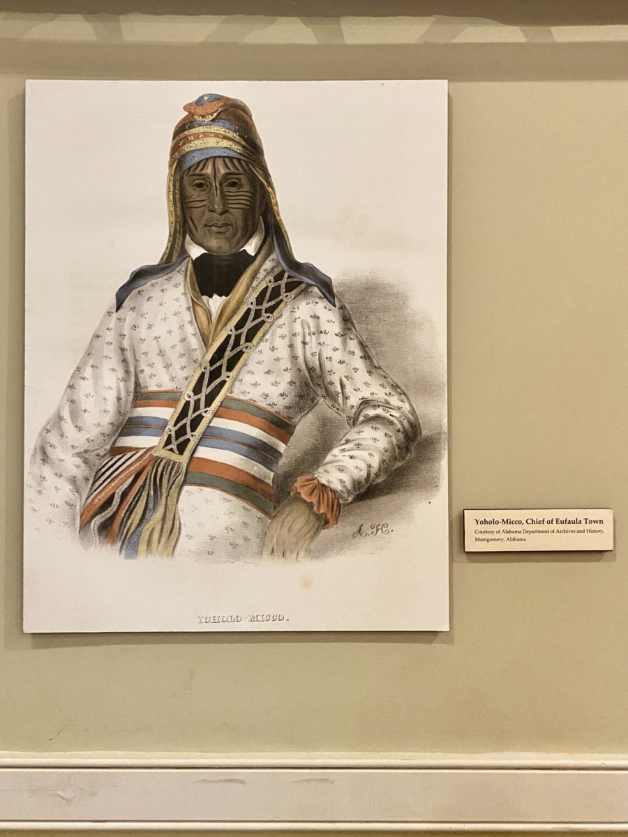 Yoholo Micco Chief Eufaula - Outdoor & Historical Things to Do in Eufaula Alabama