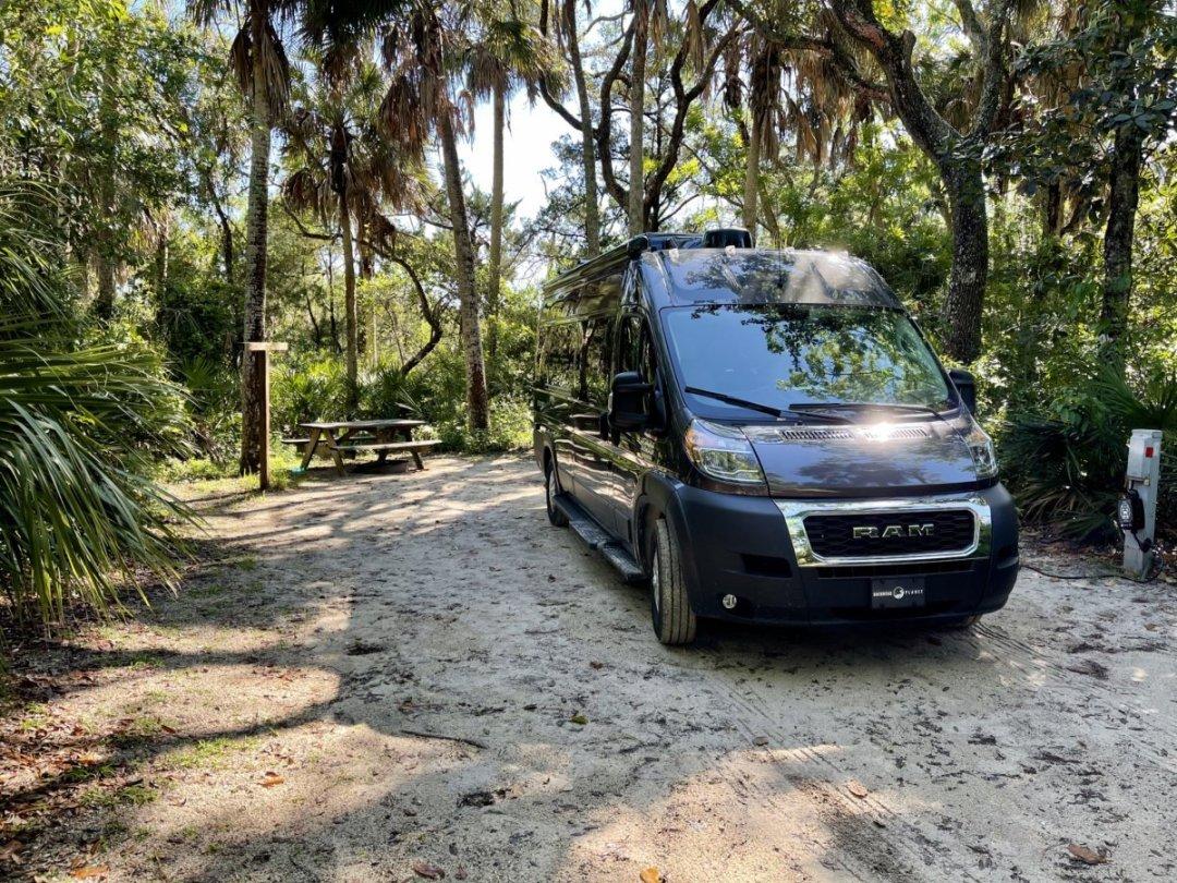 Tomoka State Park campground campsite - Florida's Tomoka State Park Camping, Recreation & History