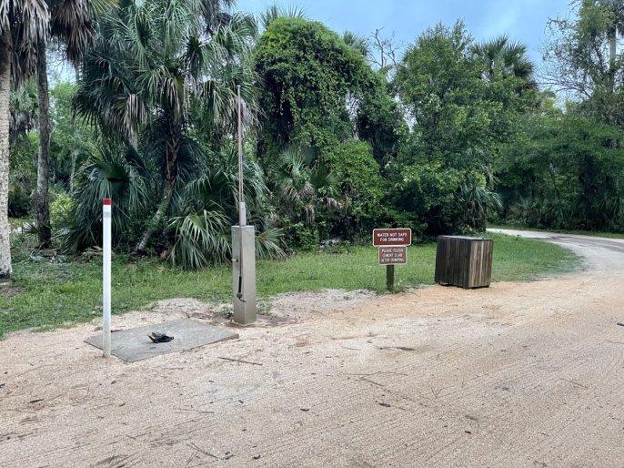 Tomoka State Park dump station - Florida's Tomoka State Park Camping, Recreation & History