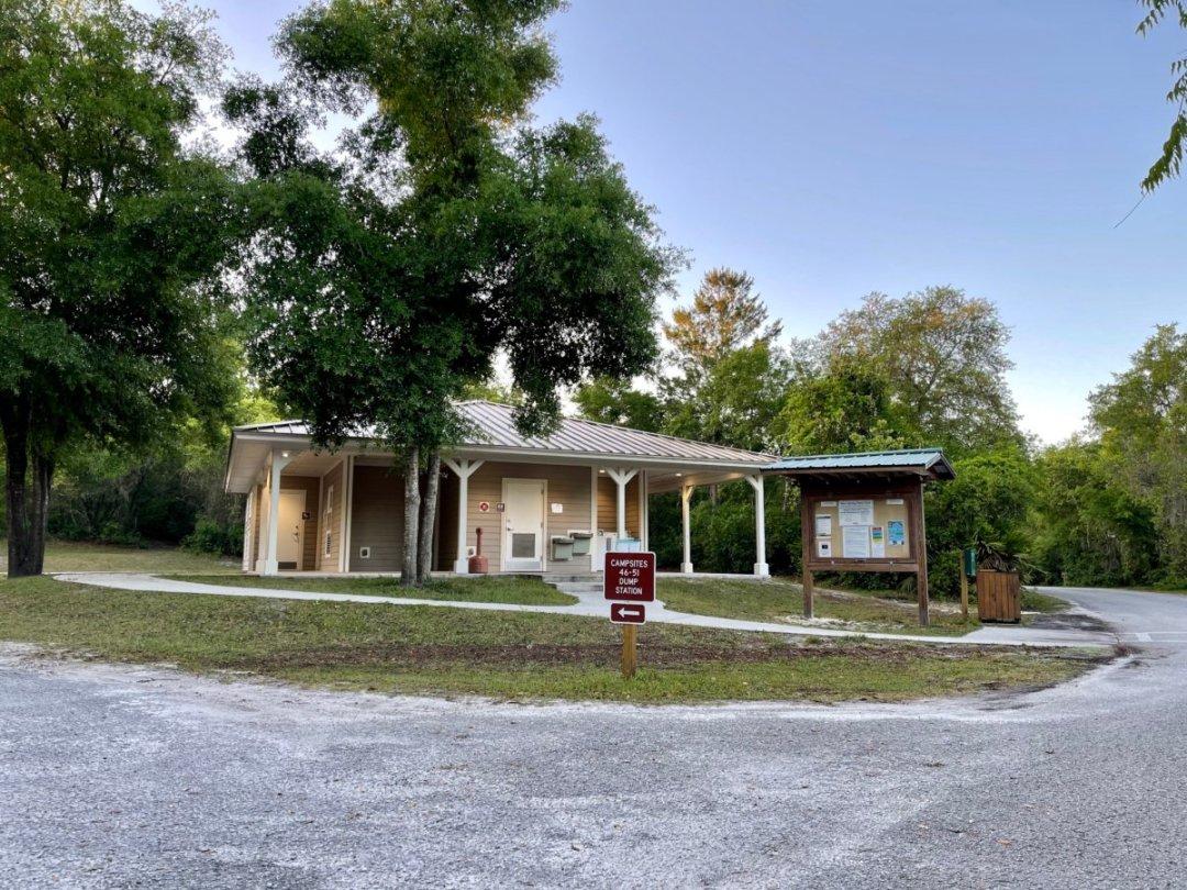 Blue Spring SP bathhouse - Discover Florida's Blue Spring State Park & Campground