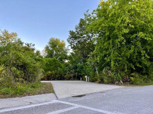 Blue Spring State Park concrete campsite - Discover Florida's Blue Spring State Park & Campground