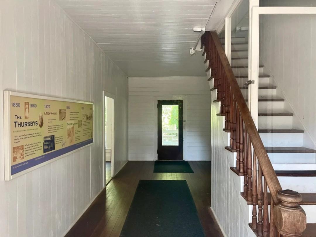Thursby House interior - Discover Florida's Blue Spring State Park & Campground