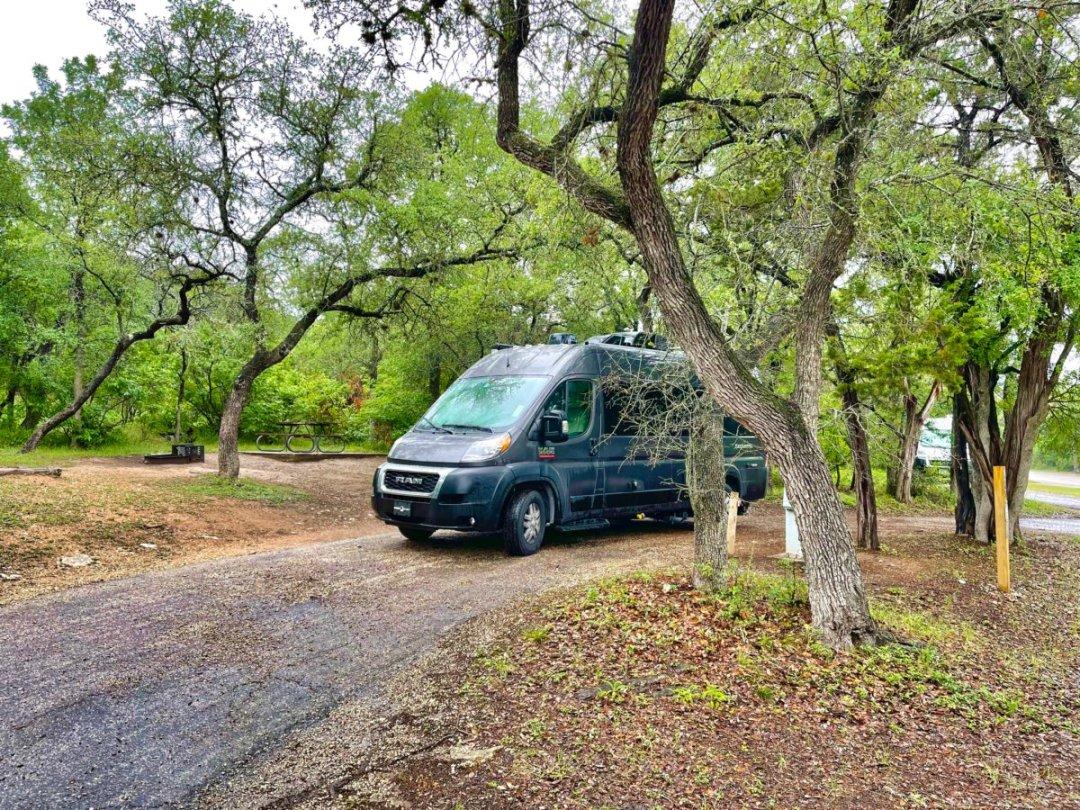 McKinney Falls Camper Van - Plan an Unforgettable McKinney Falls State Park Camping Trip