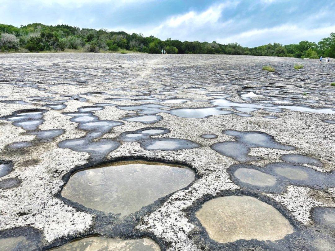 McKinney Falls limestone pools - Plan an Unforgettable McKinney Falls State Park Camping Trip