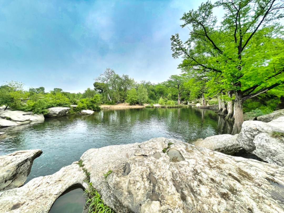 Upper McKinney Falls swimming hole - Plan an Unforgettable McKinney Falls State Park Camping Trip