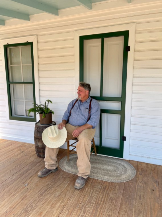 Farmer Mark Itz - Explore LBJ Ranch and the Texas Hill Country