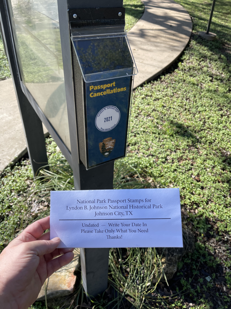 LBJ NHP NPS Passport cancellations rotated - Explore LBJ Ranch and the Texas Hill Country