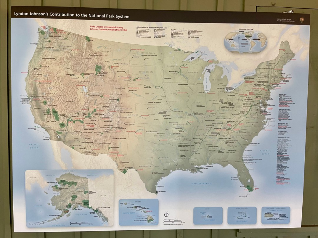 LBJ Ranch National Parks map - Explore LBJ Ranch and the Texas Hill Country