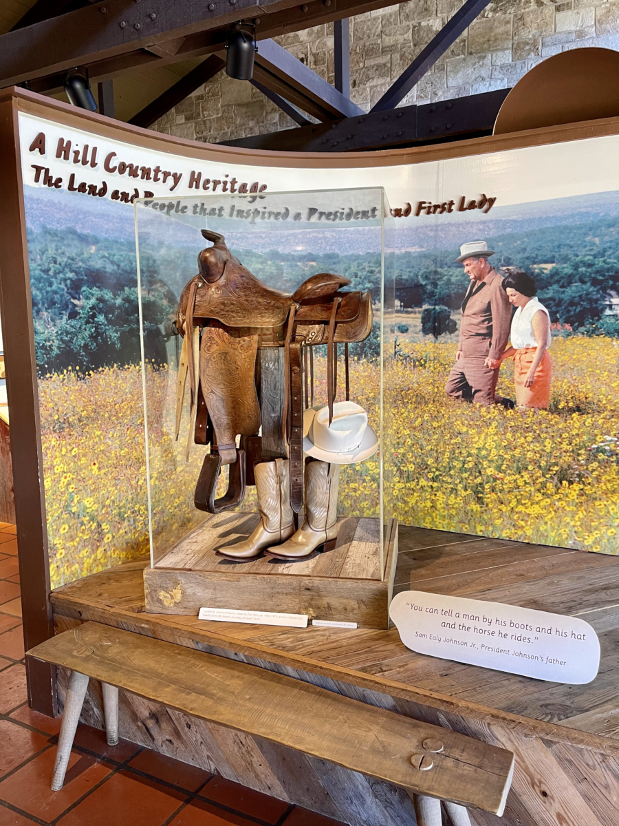 LBJ State Park exhibit - Explore LBJ Ranch and the Texas Hill Country