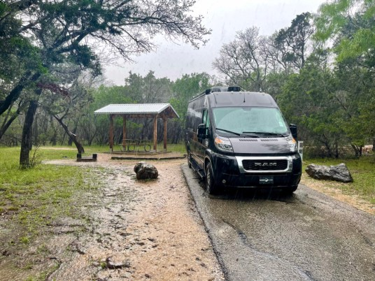 Pedernales Falls SP campsite - Explore LBJ Ranch and the Texas Hill Country