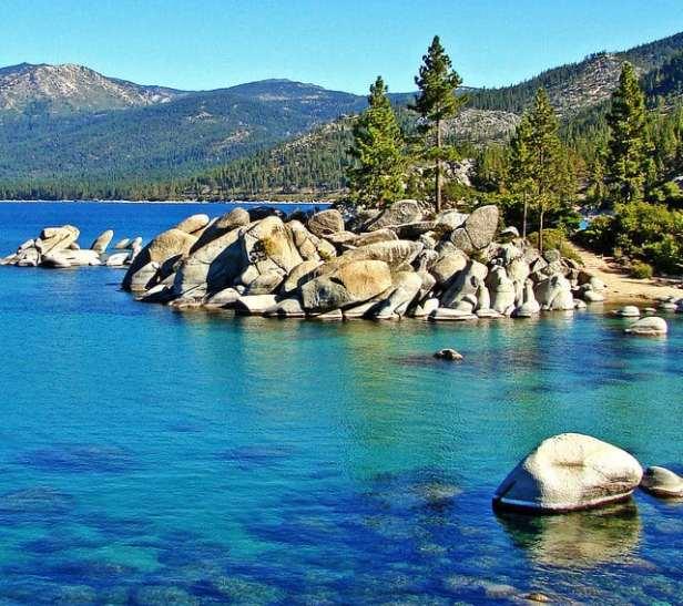 Sand Harbor, Lake Tahoe, NV by Don Graham