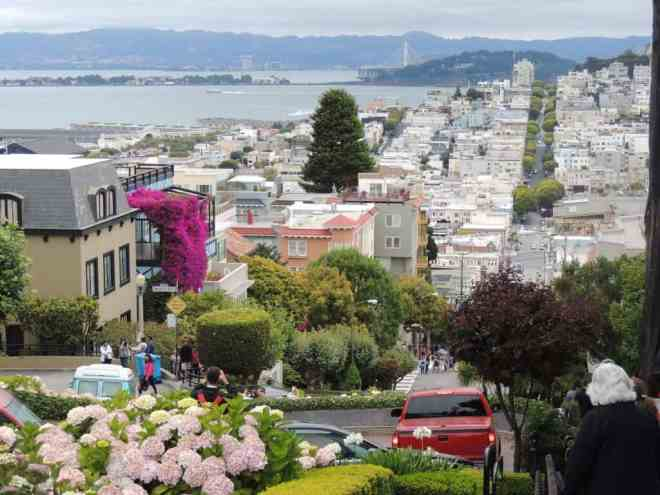 San Francisco in the summer