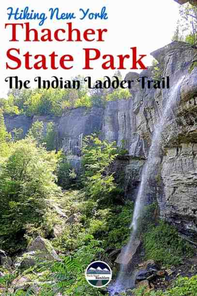 You'll find beautiful views around every corner on the Indian Ladder Trail in Thacher State Park. Just a short drive from Albany, New York.