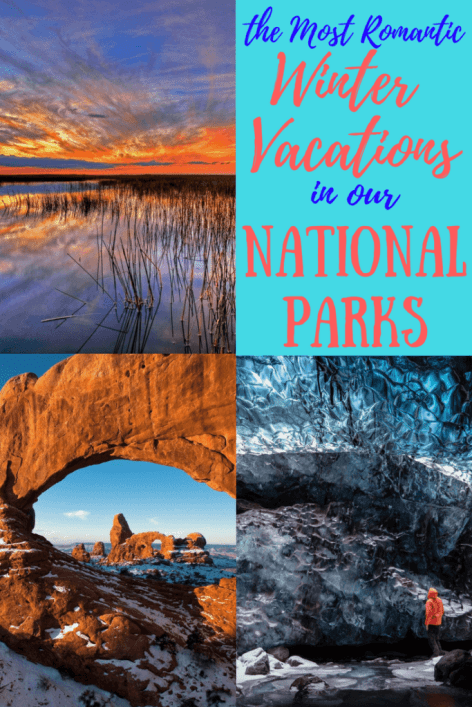 Looking for romance this winter? Check out these secluded national parks!