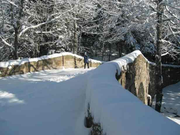 Romantic winter adventures in our national park
