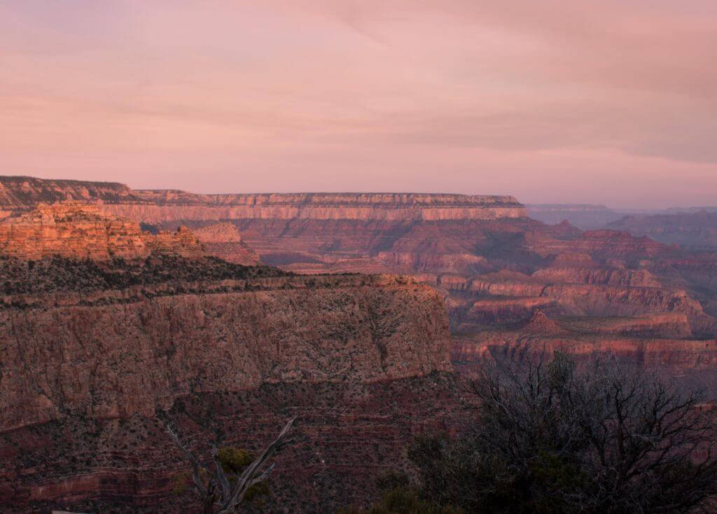 Moran Point - Grand Canyon Sunset