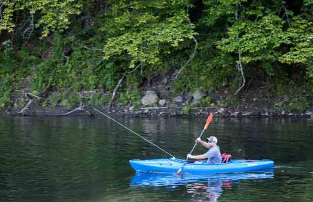 kayaking and fishing at Little River State Park