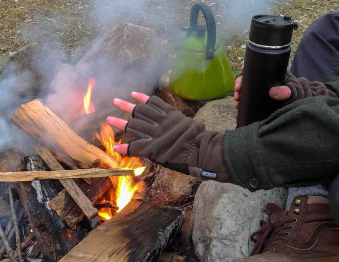 These are our favorite hot drinks for camping, hiking, and backpacking.