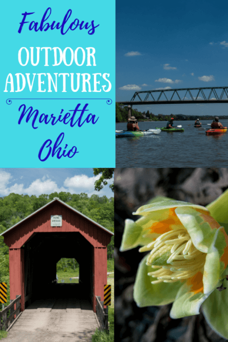 The Midwestern town of Marietta, Ohio is one of our favorite adventure destinations. It is one of National Geographic's top adventure towns. I promise you won't run out of fun - paddling, hiking, and mountain biking all within the downtown area...