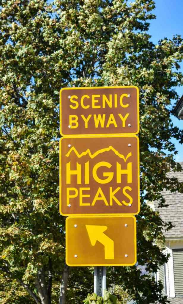 High Peaks Scenic Byway