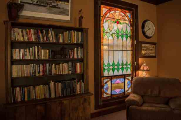 Southern Vermont vacation rental - library