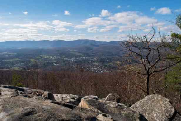 Pine cobble summit