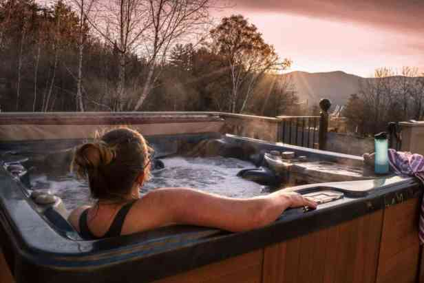 Southern Vermont vacation rental - hot tub