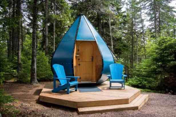 Bay of Fundy camping
