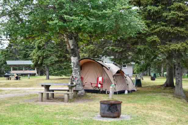 Cape Breton Highlands National Park Camping