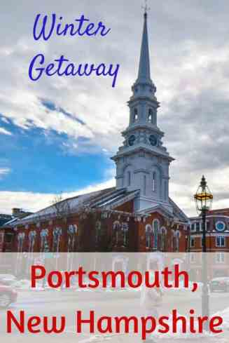 Winter in Portsmouth, New Hampshire - outdoor adventures and fun activities #NewHampshire #NewEngland